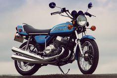1972 Kawasaki H2 750 Mach IV - Bikers Cafe