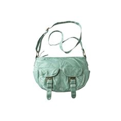 Mossimo Supply Co. Mint Green Crossbody... I have this purse in yellow and love it. I really like the mint.