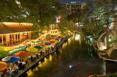 San Antonio, Texas -- Riverwalk.