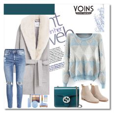 """Yoins sweater contest"" by melisa-j ❤ liked on Polyvore featuring moda, MANGO, H&M, Gucci, yoins e yoinscollection"