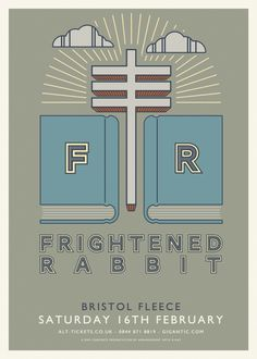 Frightened Rabbit - Pedestrian Verse Tour