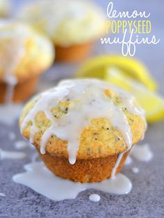 Don't hit the bakery when you can make your own muffins just as easily! These Bakery-Style Lemon Poppyseed Muffins have a crisp crust, with the inside perfectly tender and soft.