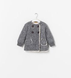 Image 1 of LINED COAT from Zara