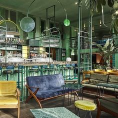 @barbotaniqueamsterdam is lush and green and tropical and ace; a green…