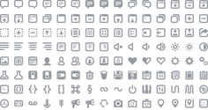 A Collection Of Free Icon Fonts For Your Websites