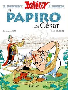 ASTÉRIX. EL PAPIRO DEL CÉSAR.Goscinny. Bruño. Llega el nuevo álbum de la colección clásica de Astérix con los personajes de siempre y muchos nuevos.Biblioteca.