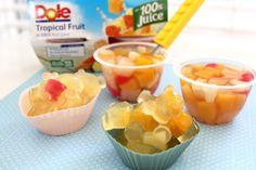 Ricos Gummy Bears con sorpresa de frutas Dole #VidaDole #ad