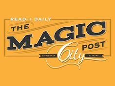 Dribbble - Magic City Post - Final Logo by Hero Design Studio