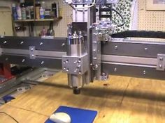 (Posted from tinymachining.com)   First movements.   http:://www.planet-cnc.com – Making CNC parts for desktop machine. Video Rating: 5 / 5   Read more on http://www.tinymachining.com/building-cnc-router-parts-crp4848-17-mpg/