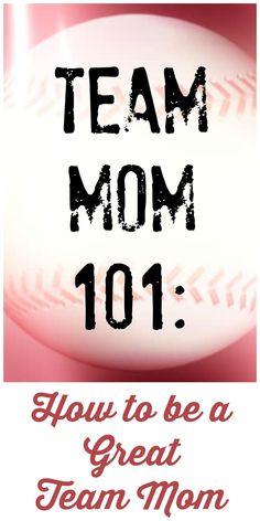 Team Mom How to be a Great Team Mom Softball Mom, Baseball Mom, Team Mom Football, Baseball Stuff, Baseball Season, Baseball Snacks, Travel Baseball, Softball Drills, Football Stuff