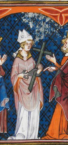 Detail Royal MS 16 G VI f.160r, 1332-1350