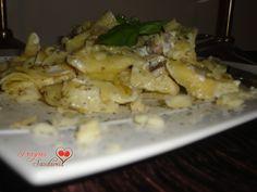 PRAZERES SAUDÁVEIS: Tortellones de Requeijão e Espinafres com Salteado de Cogumelos