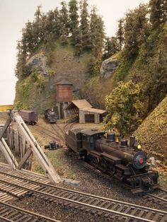 "Mt. Coffin & Columbia River - 23""x41"" n-scale layout | Model Railroad Hobbyist magazine"