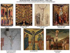Reminiscenţe ale reprezentări simbolice din perioada preiconoclastă s-au păstrat. Astfel, în perioada Renaşterii, când autoritatea Sfintei Tradiţii asupra artelor vizuale a fost sufocată de reînvierea şi amploarea tradiţiei păgâne a antichităţii greco-romane, o bună parte dintre artiştii epocii renunţă la vechile canoane iconografice în favoarea unora mai noi sau mai vechi, inspirate însă din antichitate. Artist, Painting, Artists, Painting Art, Paintings, Painted Canvas, Drawings