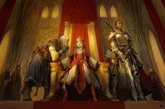 Servants to the Crown, Denman Rooke on ArtStation at https://www.artstation.com/artwork/3bXbg
