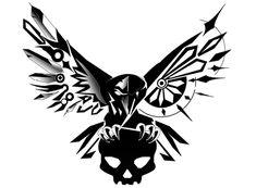 gothic_crow_2_by_luzfero-d5hlnwk.jpg (900×663)