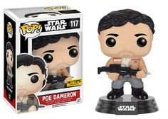 Star Wars The Force Awakens: Poe Dameron in his jacket Pop figure by Funko, Hot Topic exclusive