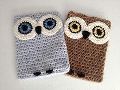 Crochet Owl Ipad Case. $30.00, via Etsy.