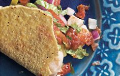I'll be replacing some of the citrus with tangerine - Tangerine Tuna Taco Tuesday!