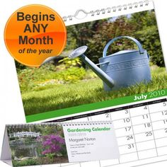 Personalised Gardening Calendar  from Personalised Gifts Shop - ONLY £9.99