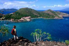 Marigot Bay, Guadeloupe.  June.