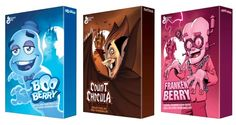 General Mills reveals its Monster Cereal collection for 2014