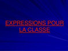 Expressions pour la classe by ProfPapillon via slideshare