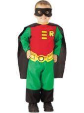 Toddler Boys Robin Costume - Teen Titans-Superhero Costumes-Toddler Boys Costumes-Baby, Toddler Costumes-Halloween Costumes-Party City
