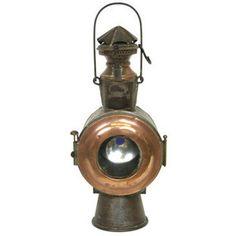 Antique Train Lamp