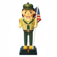 Kurt S. Adler, 12.5 in. Wooden Boy Scout Nutcracker, C0969 at The Home Depot - Mobile