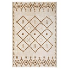 1950s Vintage Swedish Rya Rug - 6′ × 8′10″ Rya Rug, Rug Studio, Home Rugs, Handmade Rugs, Rugs On Carpet, Vintage Antiques, 1950s, Ivory, Home Decor