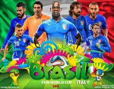 Italy World Cup 2014 Wallpaper by jafarjeef.deviantart.com on @deviantART