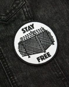💥NEW💥⛓⛓⛓ Stay Free Patch ⛓⛓⛓ from @toughtimespress just dropped on their site. Give these guys a follow for new releases every month and be sure to check out the rest of their range of pin and patch accessories. • #💪⏰ #linkinbio #toughtimespress...