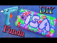 DIY FUNDA LÍQUIDA para móvil - Copa de agua o vino con