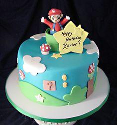 great mario cake