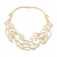 C. Wonder  Coral Reef Collar Necklace