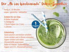 Leckerer & gesunder Detox-Smoothie, 1 SmartPoint. schnell fertig | Weight Watchers