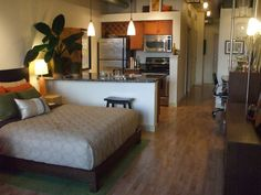 I want a studio apartment for some time in the future.
