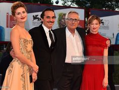 Lidya Liberman, Piergiorgio Bellocchio, Marco Bellocchio and Alba Rohrwacher attends a premiere for 'Blood Of My Blood' during the 72nd Venice Film Festival at on September 8, 2015 in Venice, Italy.