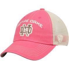Notre Dame Fighting Irish Top of the World Women's Roughage Trucker Adjustable Hat - Pink - $24.99