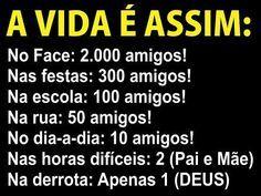 Mensagens e Imagens Para Facebook » Recado Alegre