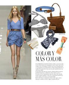 Azul - Revista J  #summer  #loveit #fashionnews #fashiontips #shopping