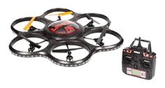 World Tech Toys 24Ghz Lancer UFO Spy Drone with Video Camera RC Hexacopter >>> Check out the image by visiting the link.