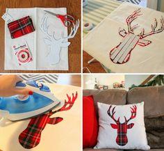 Как можно сделать декоративные подушки на диван своими руками