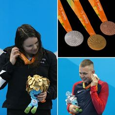 Things I learned today: Why paralympic athletes hold their medals to their ears.