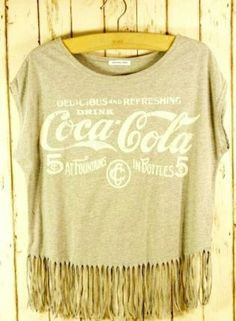 Coke love this shirt with fringe