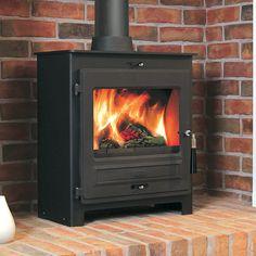 Flavel No 2 SQ07 Multifuel / Wood Burning Stove Wood Burning, Stove, Home Appliances, House Appliances, Range, Appliances, Woodburning, Hearth Pad, Kitchen