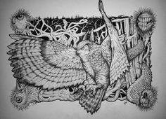Demon Owl - Fantasía | Dibujando.net