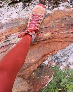 Hiking Gear, Hiking Boots, Gq, Girlfriends, Leggings, Terracotta, Collection, Rust, Shoes
