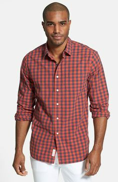 740fe1c5ecf Grayers Slub Poplin Sport Shirt available at  Nordstrom Sports Shirts